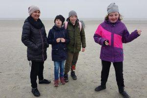 Klassenfahrt der Klasse Bou Vinals nach Norderney