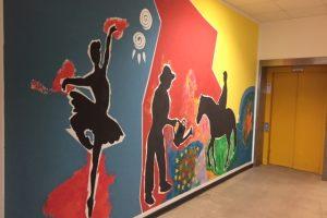 "Projektwoche ""Berufe"": Malern und Reinigen"